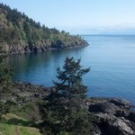 View from Lime Kiln Park - San Juan Island, just south of Snug Harbor Resort