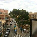 Blick vom tollen Balkon