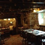 The Dining Area of the Crow's Nest Inn
