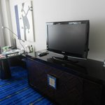 TV and work area