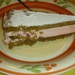 torta ricotta e fragole buonissima