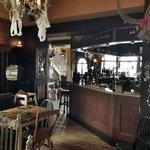 Bar from garden
