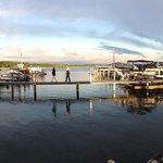 PanoramaBlick aus dem Restaurant am Hafen - gehört zum Resort