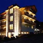 Hotel Leitner bei Nacht