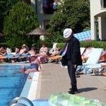 dom dom as michael jackson poolside entertainment
