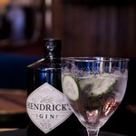 One of our best sellers, Hendricks in the original glass