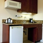 Kitchenettes in all Executive Rooms and Suites