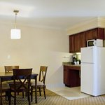 Presidential Suite Kitchenette with Full Refrigerator