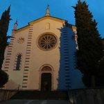 L'église San Agostino attenante à l'hôtel