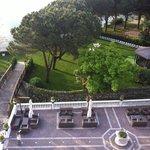 terrazza e parte giardino