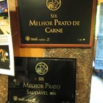 Awards from the Gastronomic Fair