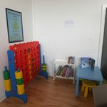 Childrens corner in Cafe area