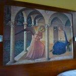 Botticelli Room headboard