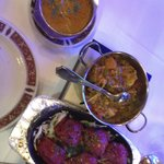 Lamb Tandoori with mixed veg curry, absolutely gorgeous.
