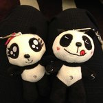 lovely panda soft toy