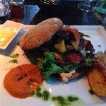 Hamburger with Caramelized Onions