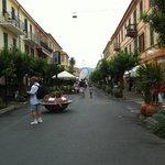 Walkway in Diano Marina