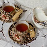 Enjoy a cup of tea and relax