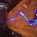 raft down the bar top