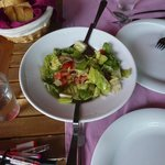 salad with lemonjuice – delicious
