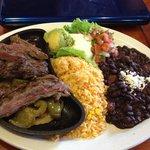 Lunch Fajitas -$12- HUGE!