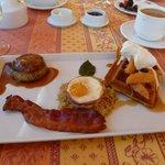 Breakfast is Served - YUM !!!