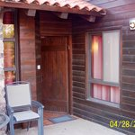 Each duplex cabin has a semi-private patio for rest and relaxation