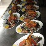 shelf fish platter