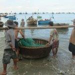 Fishing market in Mui Ne