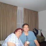mi mama y yo en la habitacion