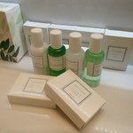 Quality range of toiletries provided in new Business Suites