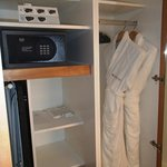 Cupboard and safe in new Business Suites