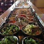 Fresh salad bar!