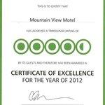 2012 Award-certificate