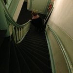 Lots of steep stairs - it is Amsterdam