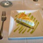 Sunset menu lemon meringue pie