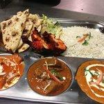 non veg thali