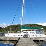 catamaran we went on