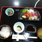 Niku no Yamamoto Sashimi Lunch Set