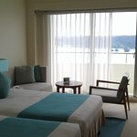 Our Room at 7th Floor with the lovely Tiffany Blue color