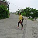 beginning of walk