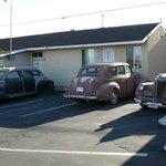 quelques voitures d'époque de la 66 (8 au total)