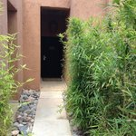 L'entrée de notre pavillon