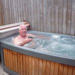 Loved the hot tub didn't you John lol