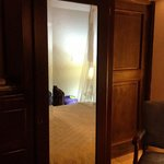 Full length mirror in room