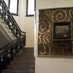 Лестница в зал.