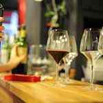 Terroirific glasses and wine bar