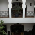 Inside of the Riad
