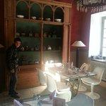 salle à manger et moulins café...