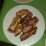 Fried Squid (calamari fritti)